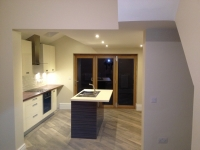 Open plan living area and Kitchen, beverley