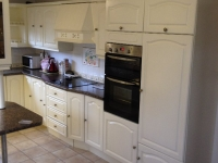 hand painted kitchen, newbald
